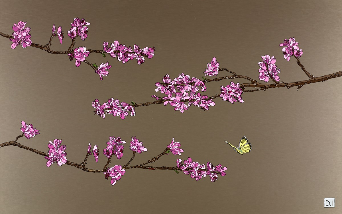 Blossom Butterfly by Dylan Izaak -  sized 35x22 inches. Available from Whitewall Galleries